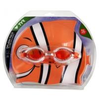 TYR Splashpack Goggles & Swim Cap Combo
